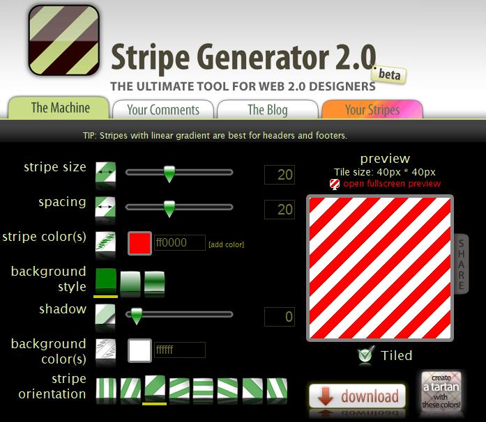 stripe-generator